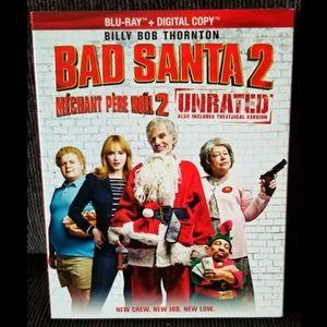 ⚡Sale⚡NWT- Bad Santa 2 bluray + digital copy